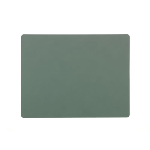 LIND DNA Table Mat Pastel Green Square L