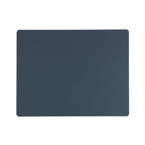 LIND DNA Table Mat Dark Blue Square L