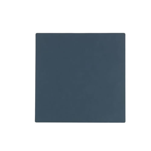 LIND DNA Dark Blue Square Coaster