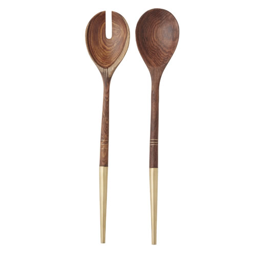 Meknes Salad Servers Set