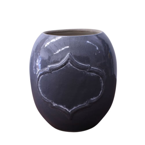 Written in Stone Vase Opal 20cm