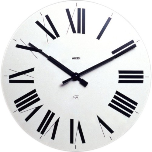 Firenze Wall Clock in White