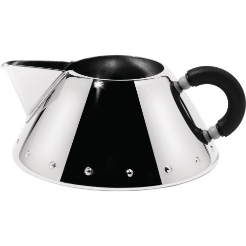 Graves Creamer in Chrome with Black Handle