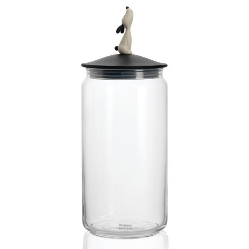 Lula Jar for Dog Food in Black