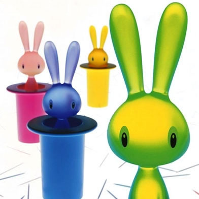 Magic Bunny Toothpick Holder in Green
