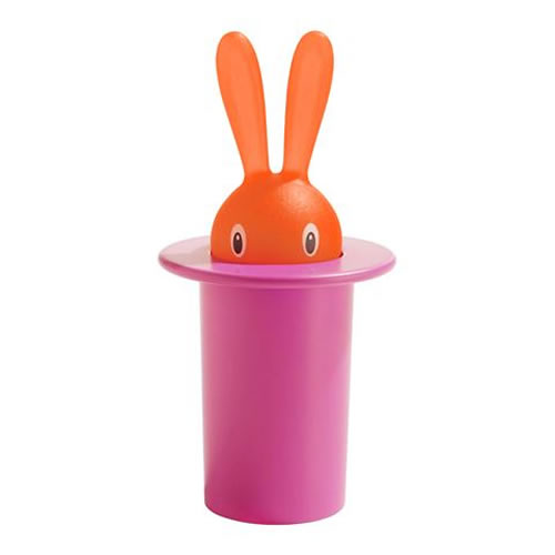Magic Bunny Toothpick Holder in Pink