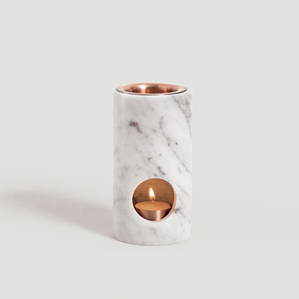 Synergy Oil Diffuser - Carrara Marble