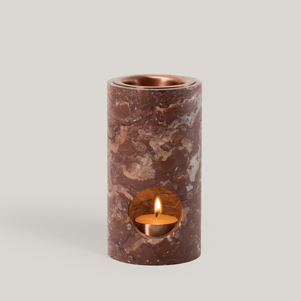 Synergy Oil Diffuser - Red Marble