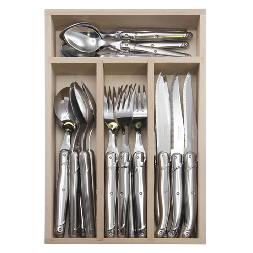 Debutant 24 Piece Stainless Steel Cutlery Set