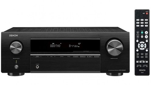 Denon 5.1 Channel 4K Ultra HD AV Receiver with Bluetooth