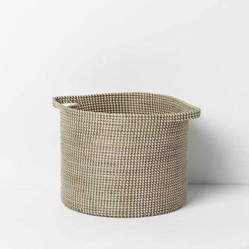 Kori Seagrass Laundry Basket Set of Two