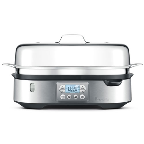 Breville The Steam Zone Steamer Brushed Stainless Steel