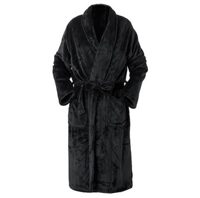 Charcoal Brogo Robe Small/Medium