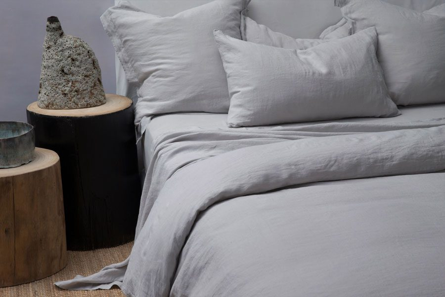 Ash Tailored Pillowcase Pair
