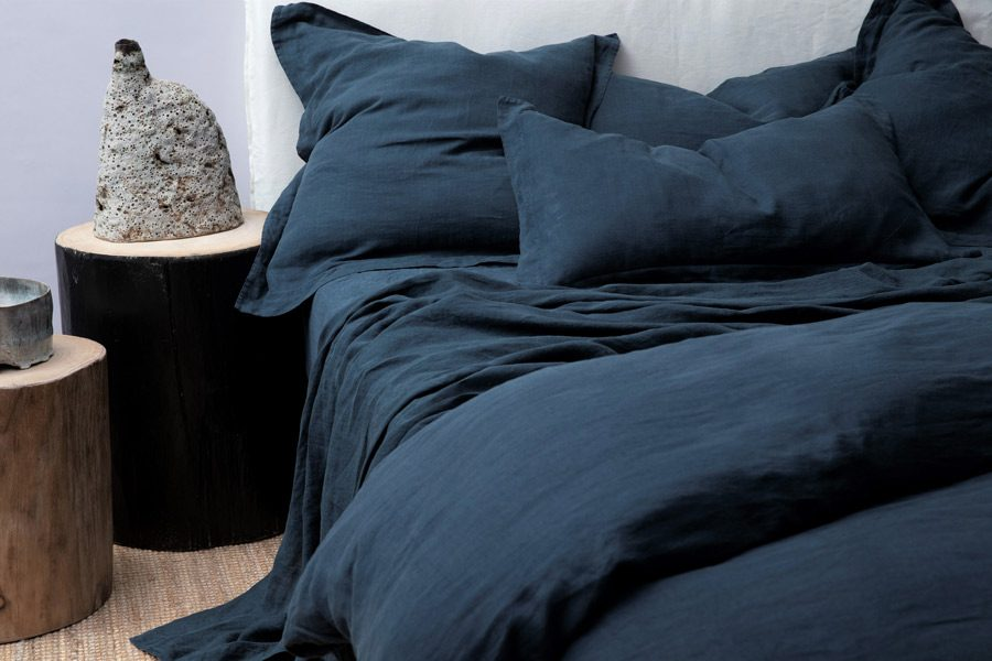 Indigo European Pillowcase