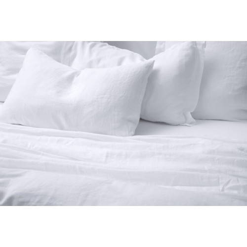 White Standard Pillowcase Pair
