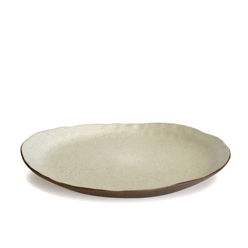 Nomad Dinner Plate Natural 28cm