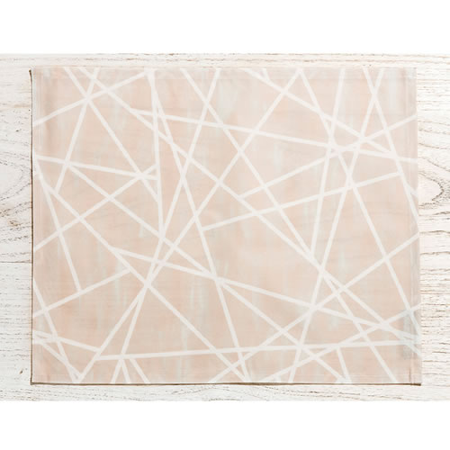 Geometric Powder by Sarah Ellison Placemat Set