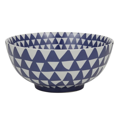 Vitra Bowl in Blue and White
