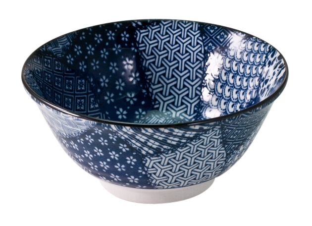 Patchwork Deep Bowl 18cm