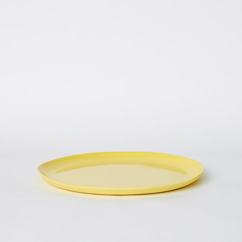 Small Cheese Platter in Yellow