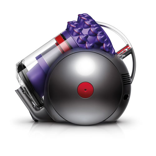 Dyson 214892 01 Cinetic Big Ball Animal Barrel Vacuum Cleaner Grey Purple