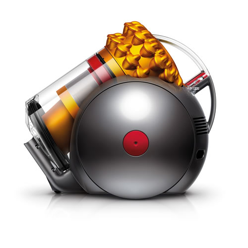 Dyson 214890 01Cinetic Big Ball Multifloor Barrel Vacuum Cleaner Grey Orange