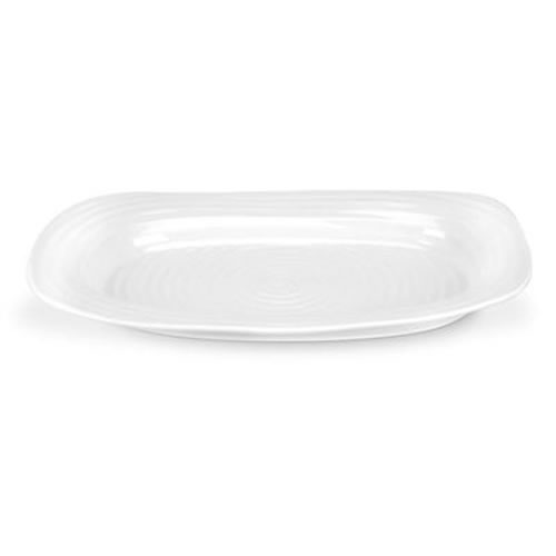 White Sandwich Tray