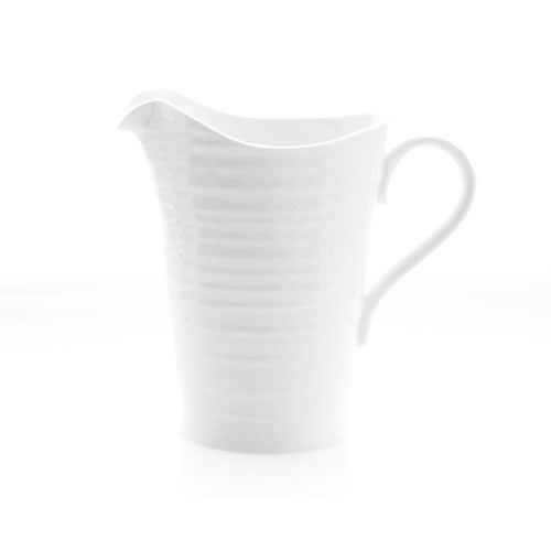 White Large Pitcher