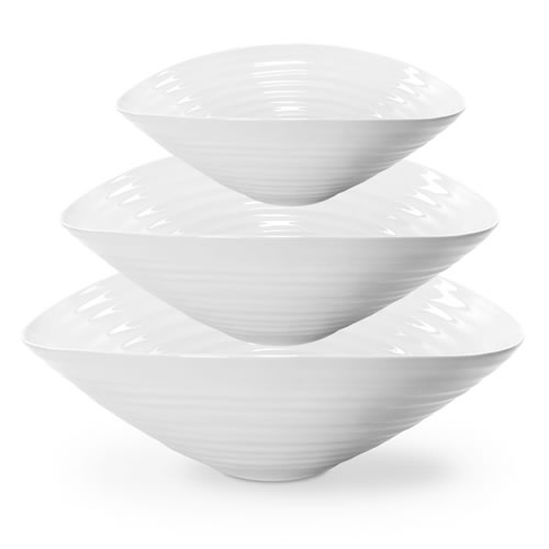 Sophie Conran White Salad Bowl Set
