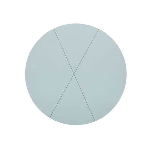 Cross Seafoam Round Placemat
