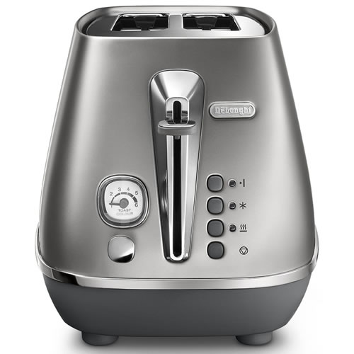 Delonghi Distinta Flair 2 Slice Toaster Silver
