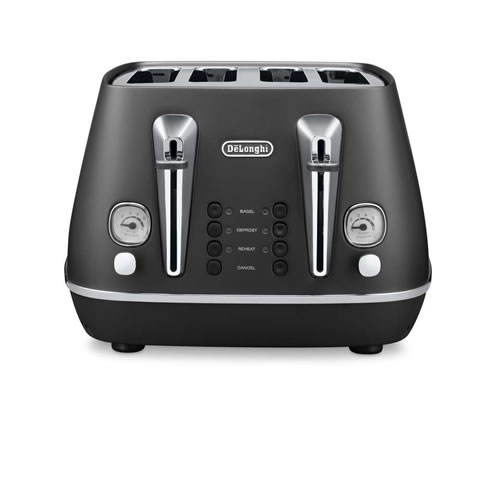 Distinta 4 Slice Toaster in Black