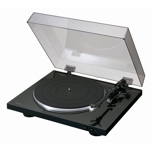 Denon Fully Automatic Turntable Black