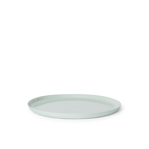 Scoop Dinner Plate in Mist