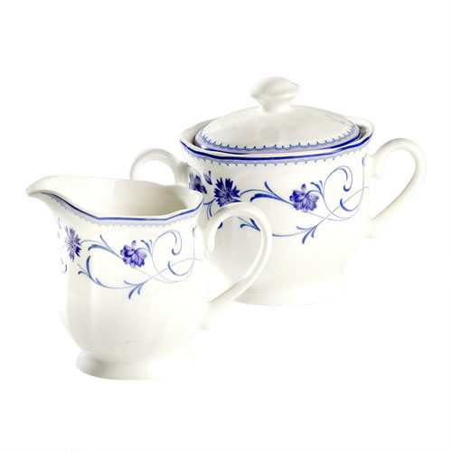 Rhapsody Blue Sugar & Creamer Set
