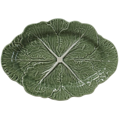 Green Cabbage 37.5cm Oval Platter
