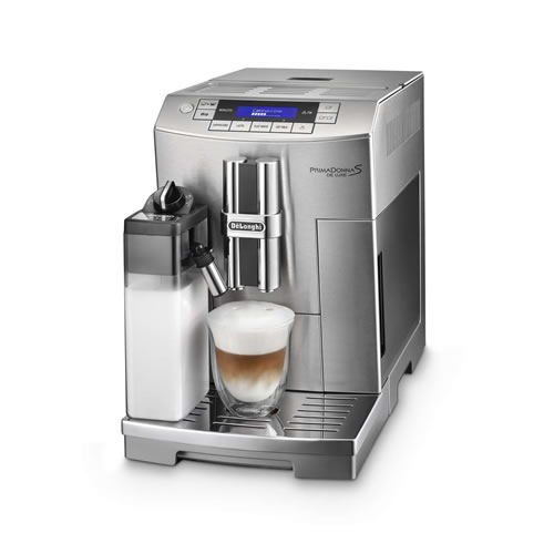 PrimaDonna S De Luxe Coffee Machine Stainless Steel