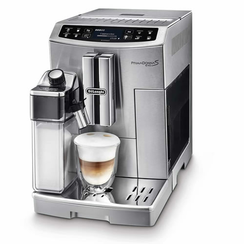 Primadonna S Evo Fully Automatic Coffee Machine - Silver