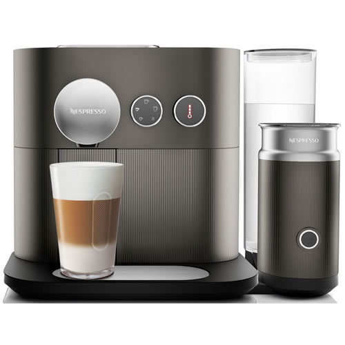 Delonghi Nespresso Expert & Milk Coffee Machine Grey