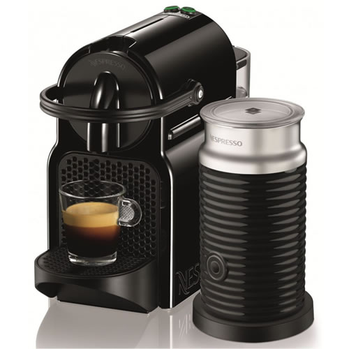 DeLonghi Nespresso Inissia Coffee Machine in Black