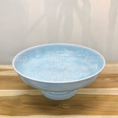 Wash Footed Bowl 26cm in Blue