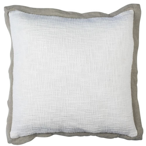 Landscap Cushion White Natural 50x50cm