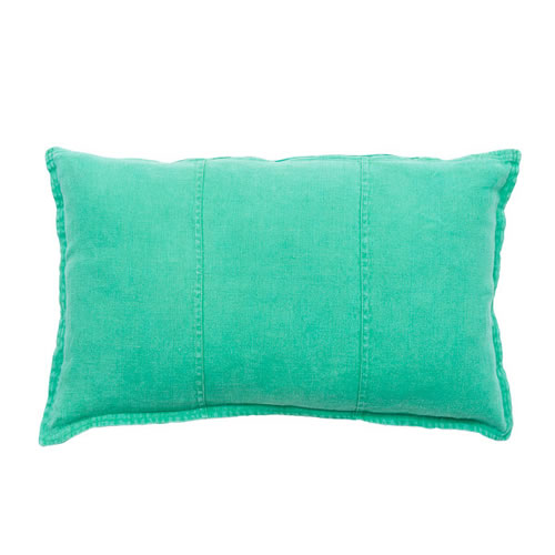 Green Luca Cushion Linen 40x60cm