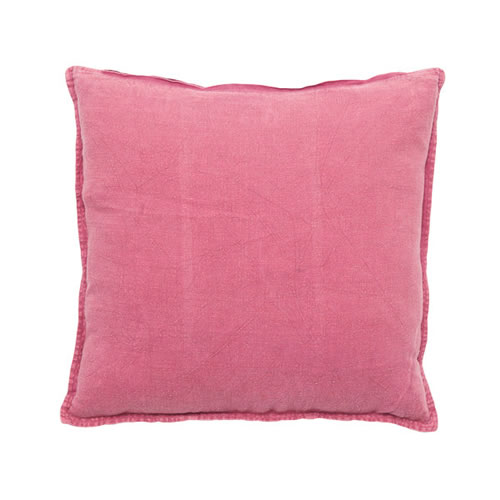 Bright Pink Luca Cushion Linen 50x50cm