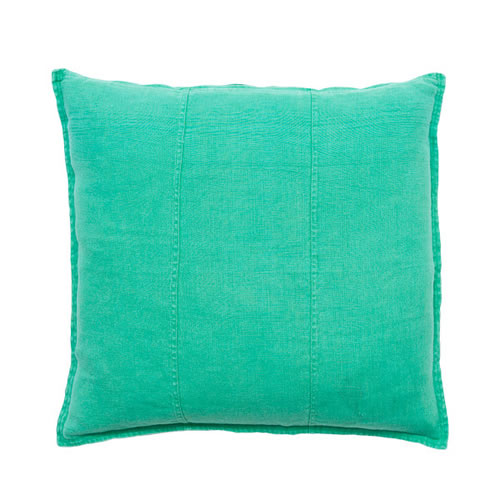 Green Luca Cushion Linen 60x60cm