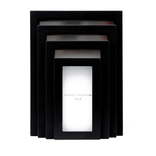 Carre Frames Set Black