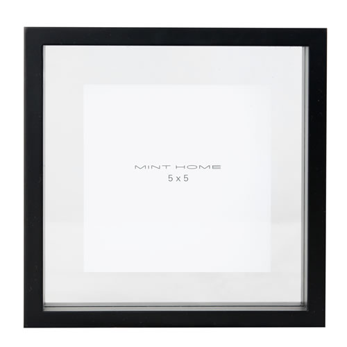 Zavier Square 5x5 Frame Colour Black