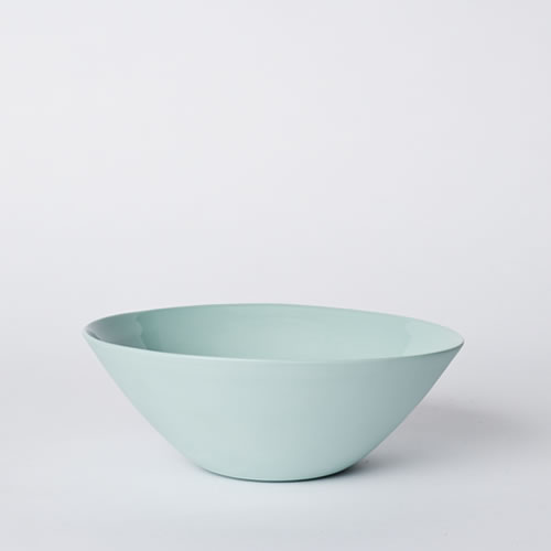 Flared Bowl Cereal Blue