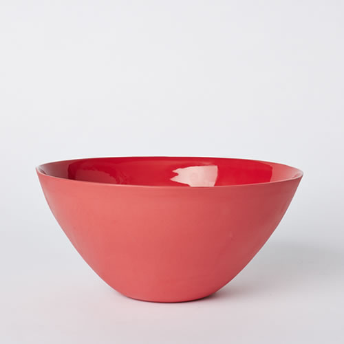 Flared Bowl Large in Red